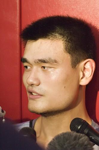 Yao Ming. Photo: Jeff Balke / Flickr.
