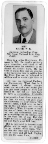 "To ""Buddy"" in Dallas, my grandfather was ""Scotch."""