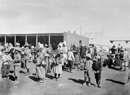 British concentration camp, Second Boer War (ca. 1901). Photo: British National Army Museum / Wikipedia