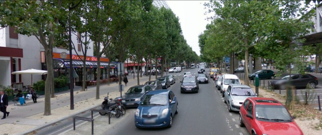 Boulevard Auguste Blanqui near the Rue de la Santé, Paris 13th Arrondissement