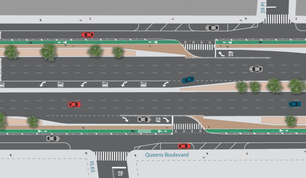 Diagram: NYC DOT